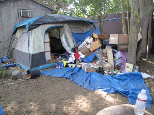 Jaycee tent